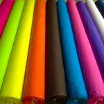 انواع پارچه تترون رنگی