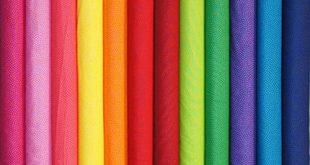 پارچه تترون رنگی ژاپن
