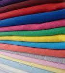 پارچه تترون رنگی